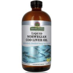 Nature's Answer Liquid Norwegian Cod Liver Oil - Lemon-Lime