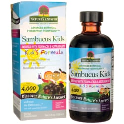 Nature's Answer Sambucus Kid's Formula