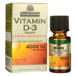 Nature's Answer Vitamin D-3 Drops