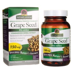 Nature's Answer Grape Seed Extract Standardized