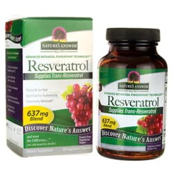 Nature's Answer Resveratrol 250 mg