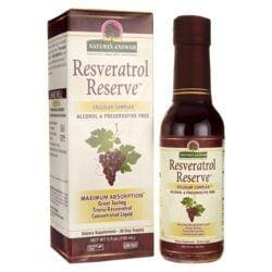 Nature's AnswerResveratrol Reserve Alcohol Free