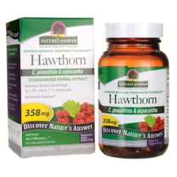 Nature's Answer Hawthorn Leaf Extract Standardized