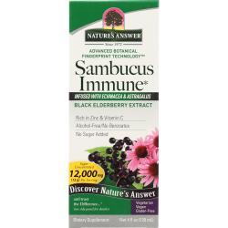 Nature's AnswerSambucus Immune - Black Elderberry Extract