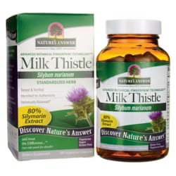 Nature's Answer Milk Thistle Seed Extract Standardized