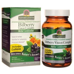 Nature's Answer Bilberry Vision Complex