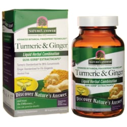 Nature's AnswerTurmeric & Ginger