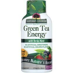 Nature's AnswerGreen Tea Energy with Yerba Mate