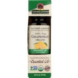 Nature's AnswerOrganic 100% Pure Grapefruit Essential Oil