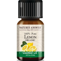Nature's AnswerOrganic 100% Pure Lemon Essential Oil