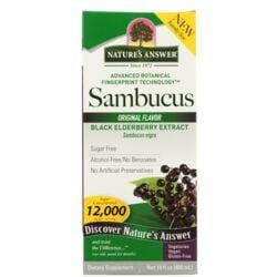 Nature's AnswerSambucus Black Elderberry Extract - Original Flavor