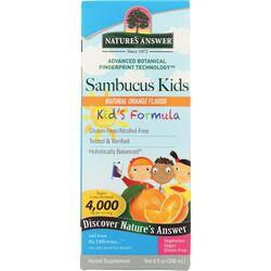 Nature's AnswerSambucus Kid's Formula - Orange Flavor