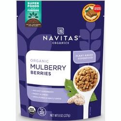 Navitas Naturals Sun-Dried White Mulberries