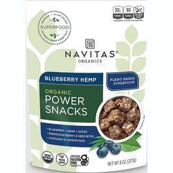 Navitas OrganicsBlueberry Hemp Power Snacks