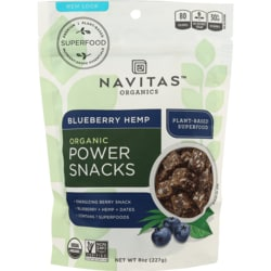 Navitas OrganicsBlueberry Hemp Power Snacks