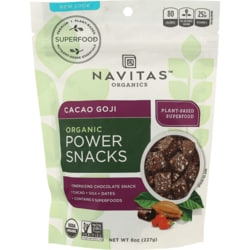 Navitas OrganicsCacao Goji Power Snacks