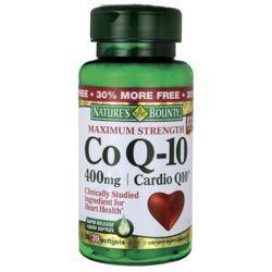 Nature's BountyMaximum Strength CoQ10 Cardio Q10