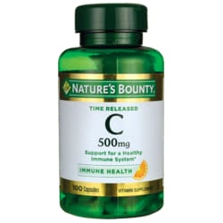 Nature's BountyTime Released Pure Vitamin C-500