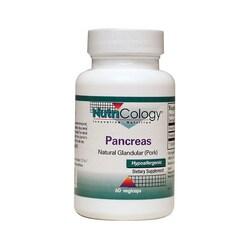 NutriCology Allergy Research Pancreas Pork Natural Glandular