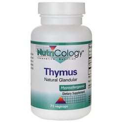 NutriCology Allergy Research Thymus Natural Glandular