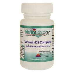 NutriCology Allergy ResearchVitamin D3 Complete with A and K2