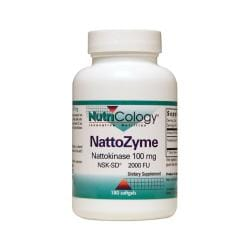 NutriCology Allergy ResearchNattozyme Nattokinase 100 Mg NSK-SD