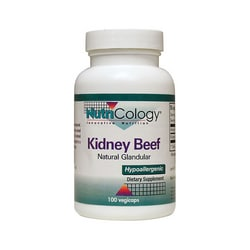 NutriCology Allergy Research Kidney Beef Natural Glandular