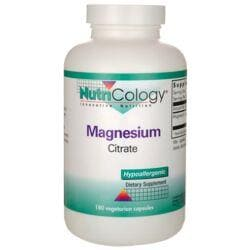 NutriCology Allergy ResearchMagnesium Citrate