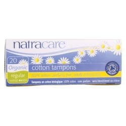 NatracareOrganic Cotton Tampons - Regular