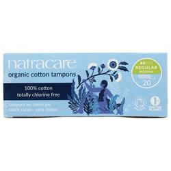 Natracare Organic Non-Applicator Regular Tampons