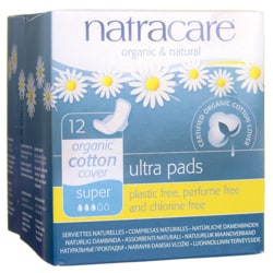NatracareNatural Pads Ultra with Wings Super