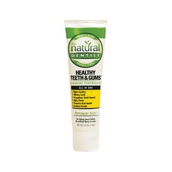 Natural DentistHealthy Teeth & Gums Flouride Toothpaste Peppermint Twist