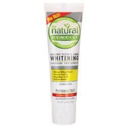 Natural DentistWhitening Fluoride Toothpaste - Peppermint Twist