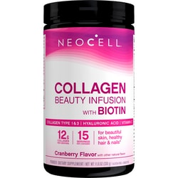 NeoCellBeauty Infusion Collagen Drink Mix - Cranberry Cocktail