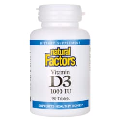 Natural FactorsVitamin D-3
