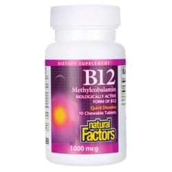 Natural FactorsVitamin B-12 (Methylcobalamin)