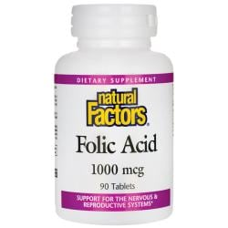 Natural FactorsFolic Acid