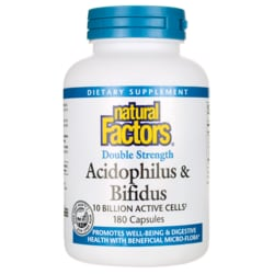 Natural FactorsDouble Strength Acidophilus & Bifidus