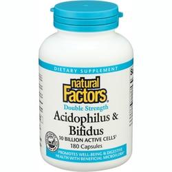 Natural Factors Double Strength Acidophilus & Bifidus