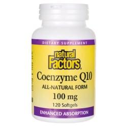 Natural Factors Coenzyme Q10