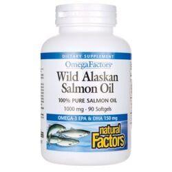 Natural FactorsWild Alaskan Salmon