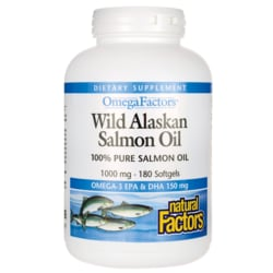 Natural FactorsWild Alaskan Salmon Oil
