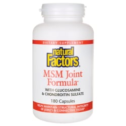 Natural FactorsMSM Joint Formula