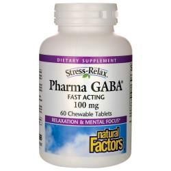 Natural FactorsStress-Relax Pharma GABA