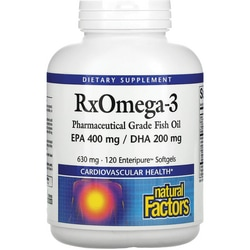 Natural Factors RX Omega-3 Factors