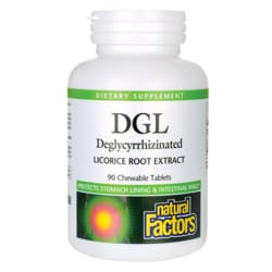Natural FactorsDGL Deglycyrrhizinated Licorice Root Extract