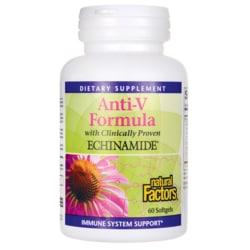Natural FactorsAnti-V Formula with Echinamide