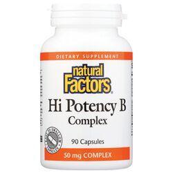Natural FactorsHi Potency B Complex