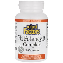 Natural FactorsHi Potency B Complex