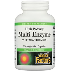 Natural FactorsMulti Enzyme High Potency